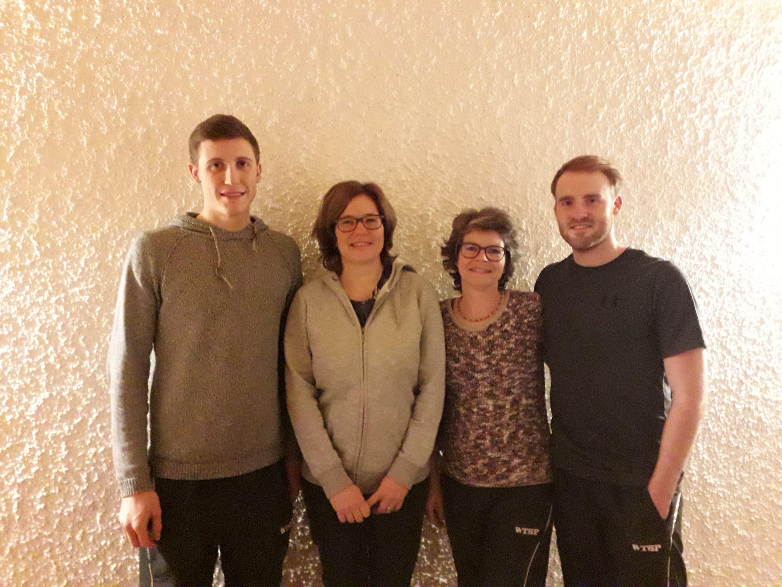 Sieger der Tischtennis Vereinsmeisterschaft in Gundelsheim