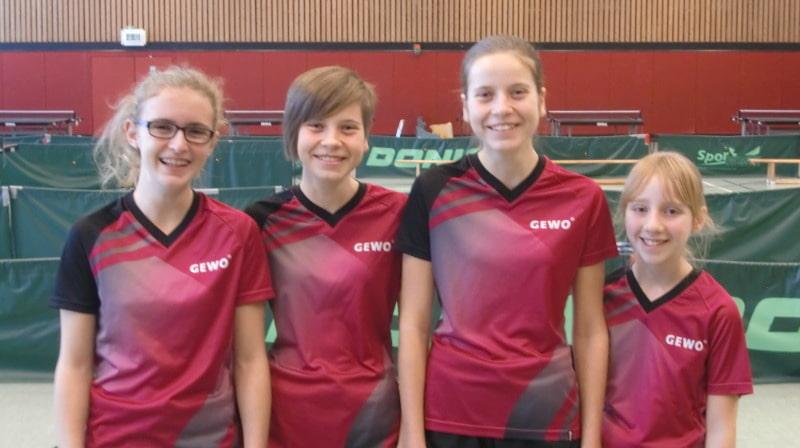 SG Gundelsheim Mädchen U18 Gruppenfoto